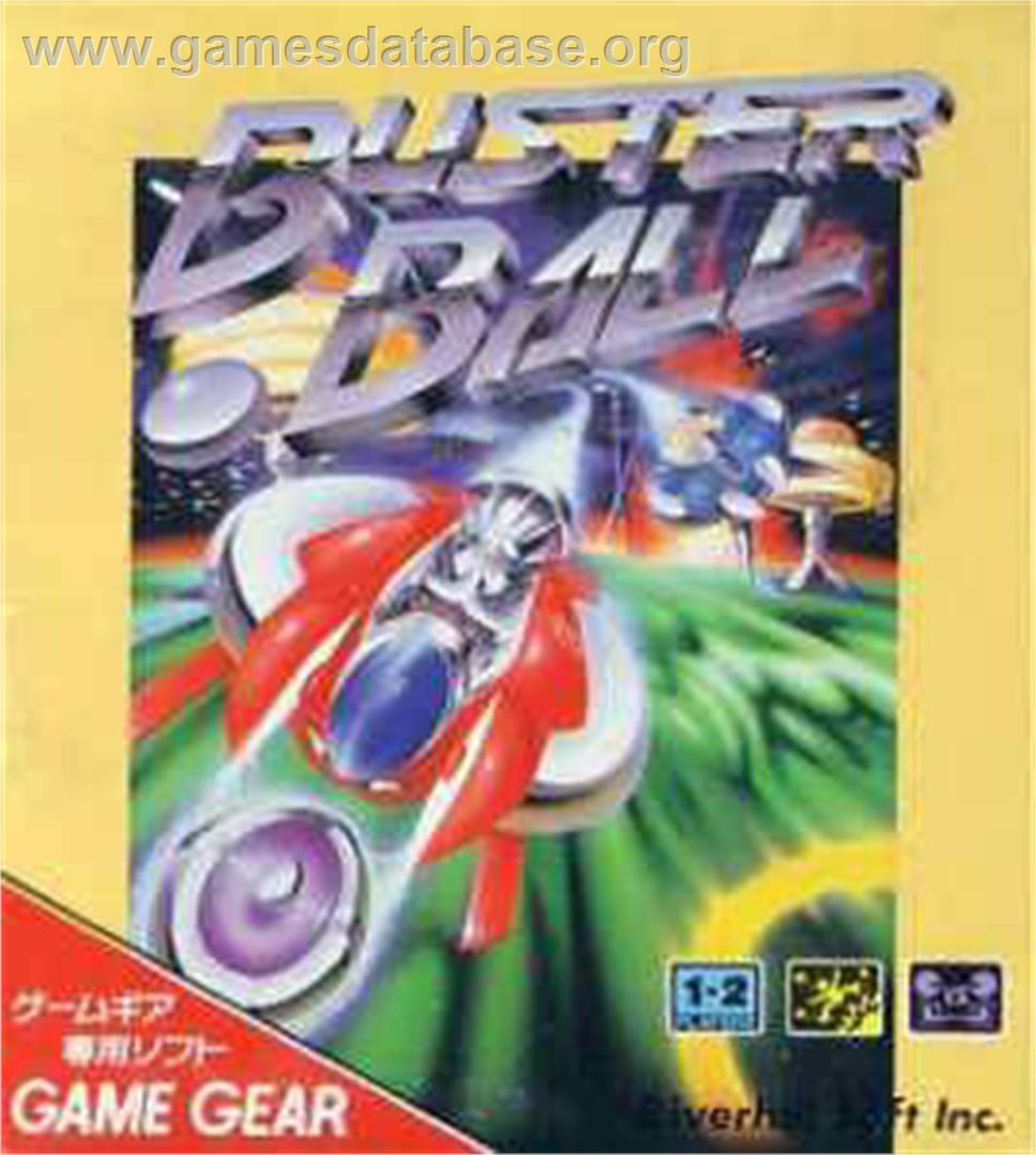 Buster Ball - Sega Game Gear - Artwork - Box