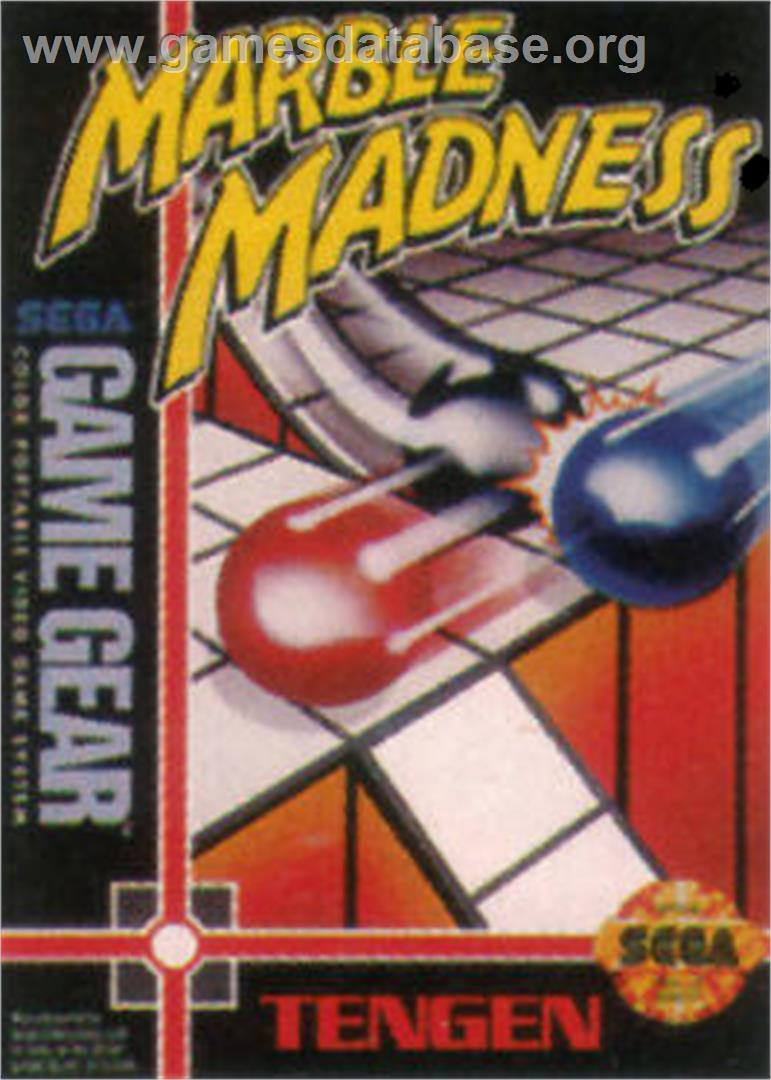 Marble Madness - Sega Game Gear - Artwork - Box