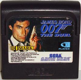 Cartridge artwork for 007: The Duel on the Sega Game Gear.
