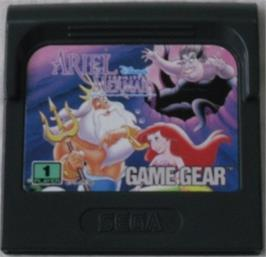Cartridge artwork for Ariel the Little Mermaid on the Sega Game Gear.