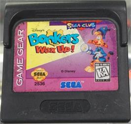 Cartridge artwork for Bonkers: Wax Up on the Sega Game Gear.