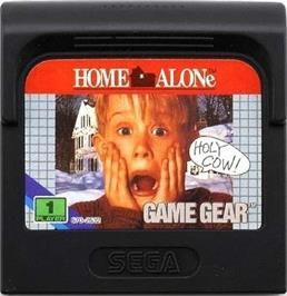 Cartridge artwork for Home Alone on the Sega Game Gear.
