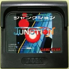 Cartridge artwork for Junction on the Sega Game Gear.