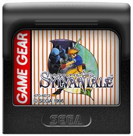 Cartridge artwork for Sylvan Tale on the Sega Game Gear.