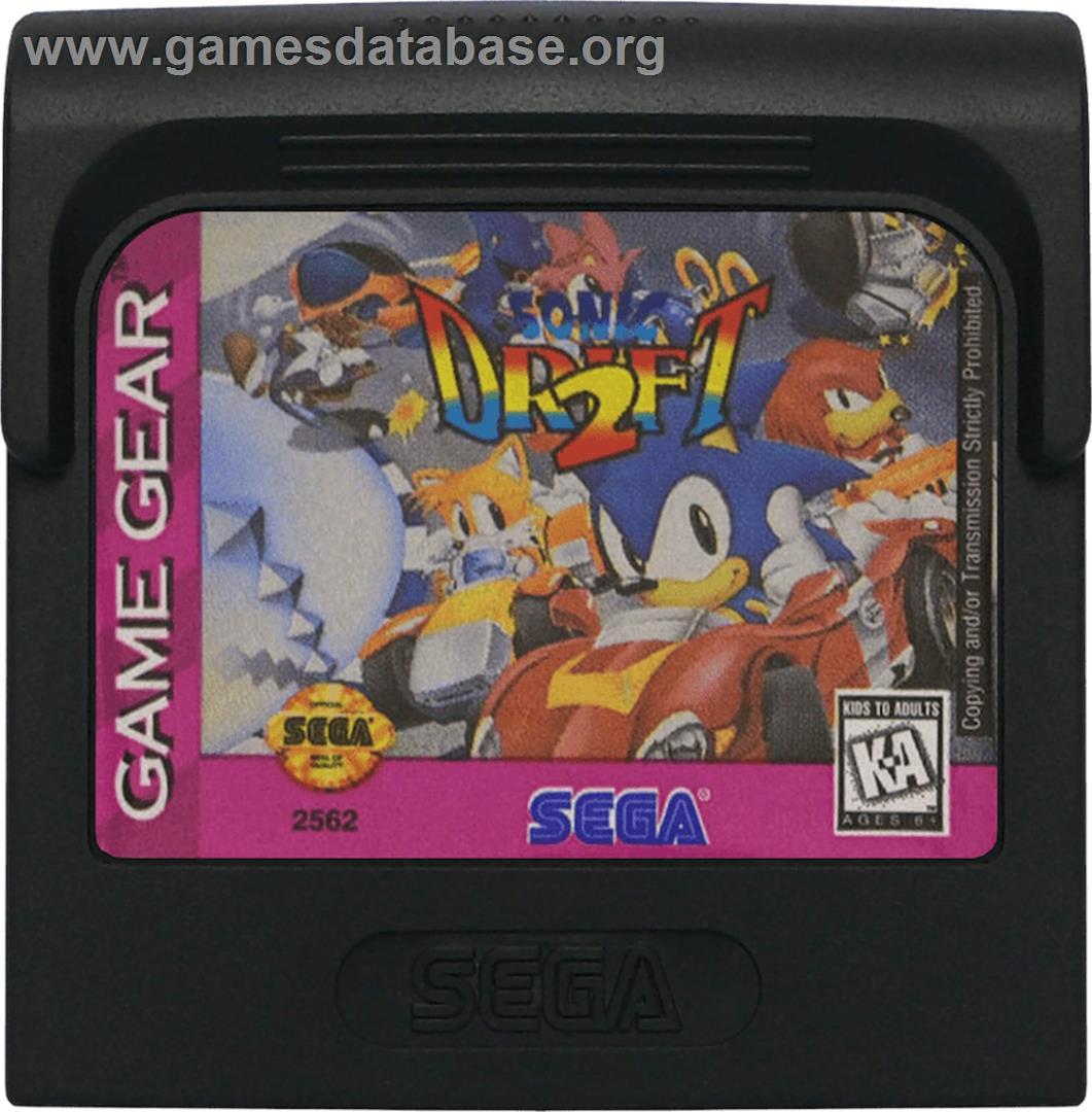 Sonic drift 2 sega game gear games database