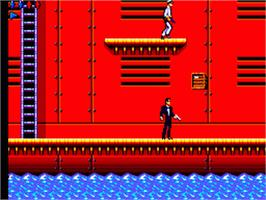 In game image of 007: The Duel on the Sega Game Gear.