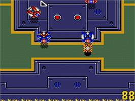 In game image of Buster Ball on the Sega Game Gear.