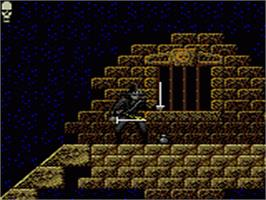 In game image of Chakan on the Sega Game Gear.