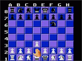 In game image of Chessmaster on the Sega Game Gear.