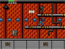 In game image of Dragon: The Bruce Lee Story on the Sega Game Gear.