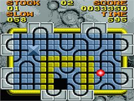 In game image of Junction on the Sega Game Gear.