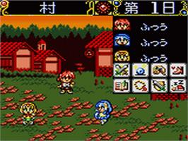 In game image of Magic Knight Rayearth 2: Making of Magic Knight on the Sega Game Gear.