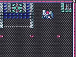 In game image of Pop Breaker on the Sega Game Gear.