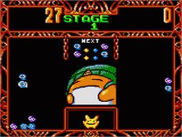 In game image of Puyo Puyo 2 on the Sega Game Gear.