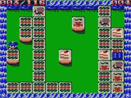 In game image of Shikinjou on the Sega Game Gear.