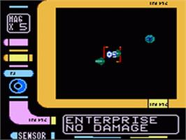 In game image of Star Trek Generations - Beyond the Nexus on the Sega Game Gear.