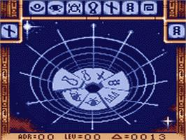 In game image of Stargate on the Sega Game Gear.
