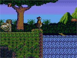 In game image of TaleSpin on the Sega Game Gear.