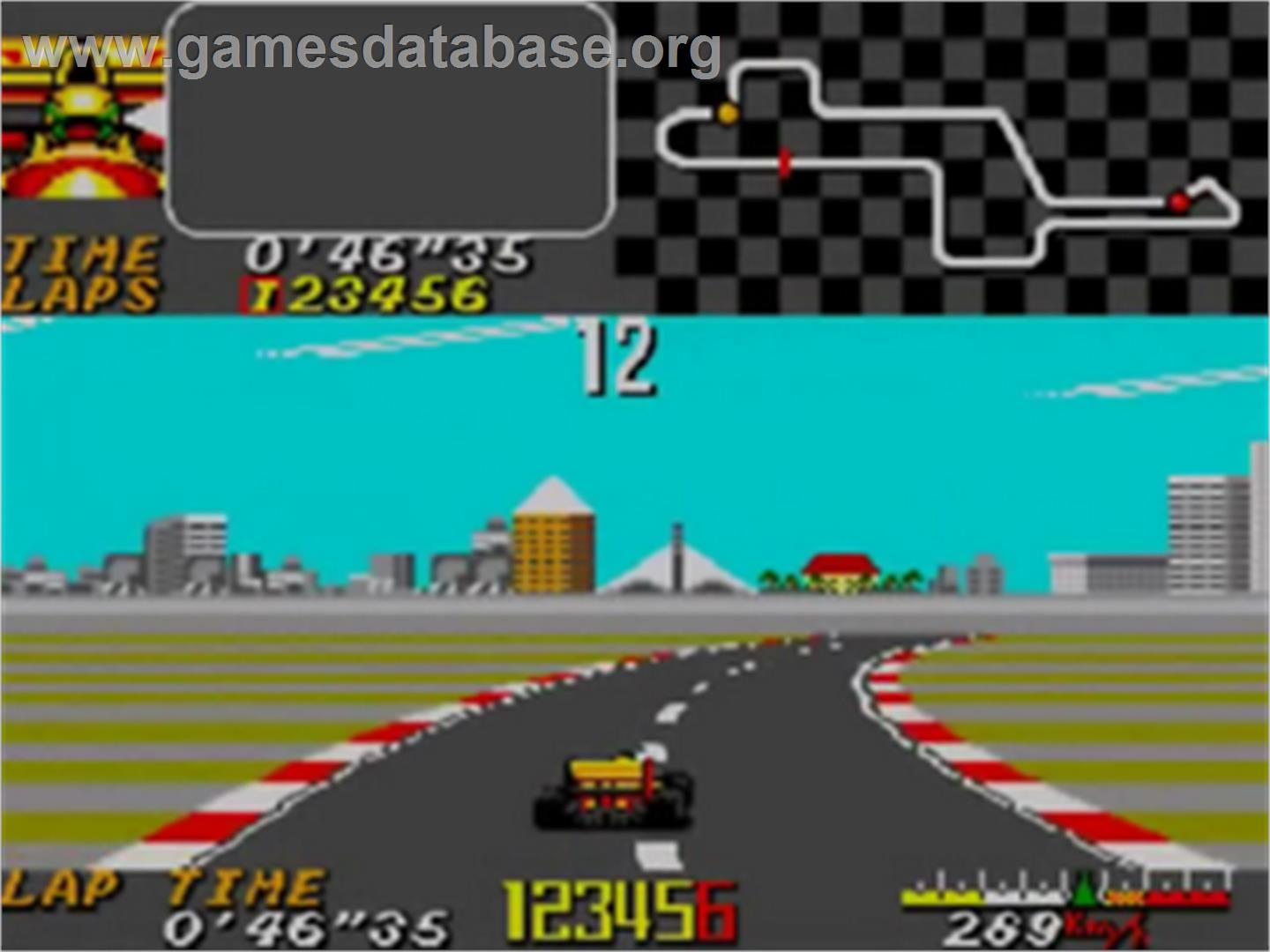 Ayrton Senna's Super Monaco GP 2 - Sega Game Gear - Artwork - In Game