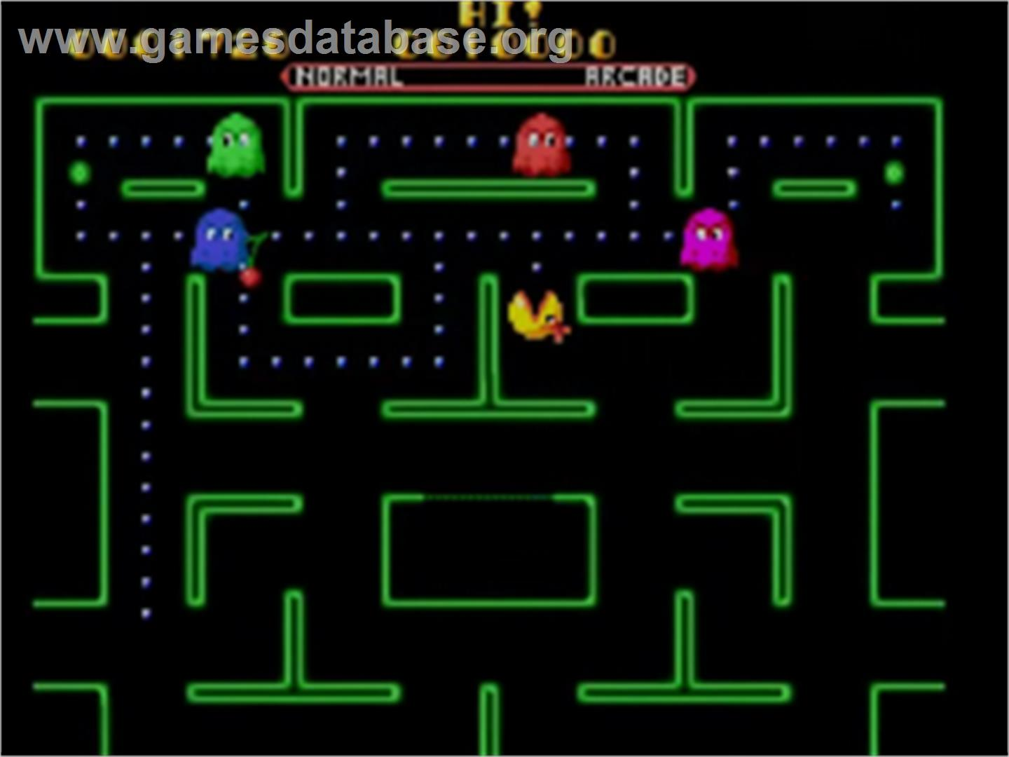 Ms. Pac-Man - Sega Game Gear - Artwork - In Game