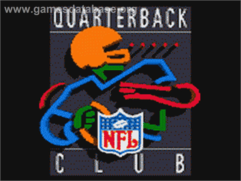 7e9d781aa NFL Quarterback Club - Sega Game Gear - Artwork - Title Screen
