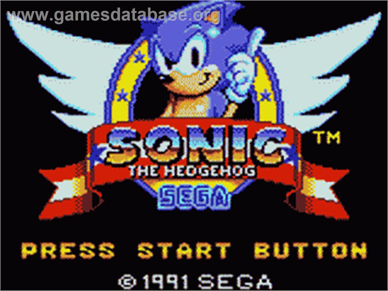 www sega sonic: