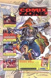 Advert for Comix Zone on the Microsoft Xbox Live Arcade.