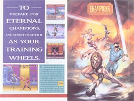 Advert for Eternal Champions on the Sega Genesis.