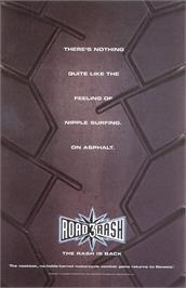 Advert for Road Rash 3: Tour De Force on the Sega Genesis.