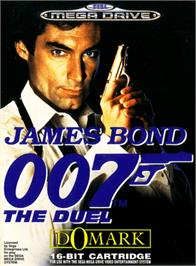 Box cover for 007: The Duel on the Sega Genesis.
