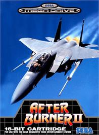 Box cover for After Burner II on the Sega Genesis.