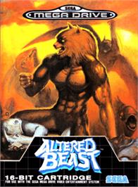 Box cover for Altered Beast on the Sega Genesis.