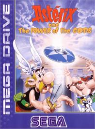 Box cover for Asterix and the Power of the Gods on the Sega Genesis.