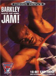 Box cover for Barkley: Shut Up and Jam on the Sega Genesis.