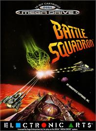 Box cover for Battle Squadron on the Sega Genesis.