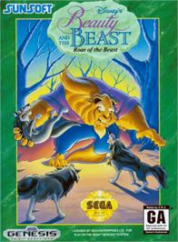 Box cover for Beauty and the Beast: Roar of the Beast on the Sega Genesis.