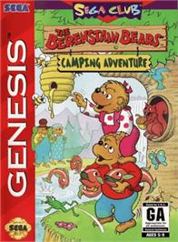 Box cover for Berenstain Bears' Camping Adventure, The on the Sega Genesis.