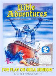 Box cover for Bible Adventures on the Sega Genesis.
