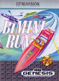 Box cover for Bimini Run on the Sega Genesis.