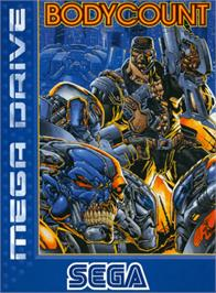 Box cover for Body Count on the Sega Genesis.