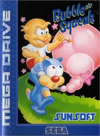 Box cover for Bubble and Squeak on the Sega Genesis.