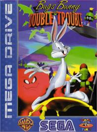 Box cover for Bugs Bunny in Double Trouble on the Sega Genesis.