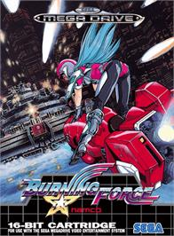 Box cover for Burning Force on the Sega Genesis.