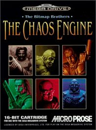 Box cover for Chaos Engine, The on the Sega Genesis.