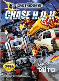 Box cover for Chase H.Q. 2 on the Sega Genesis.