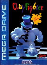 Box cover for Clay Fighter on the Sega Genesis.