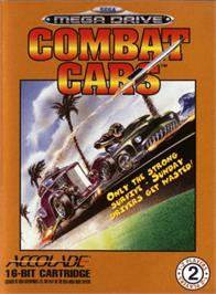 Box cover for Combat Cars on the Sega Genesis.