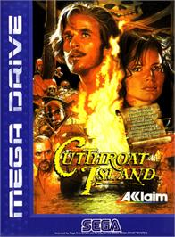 Box cover for Cutthroat Island on the Sega Genesis.