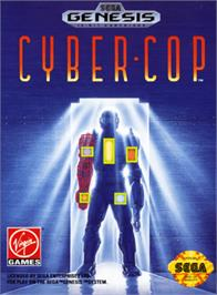 Box cover for Cyber-Cop on the Sega Genesis.