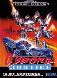 Box cover for Cyborg Justice on the Sega Genesis.